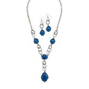 Avon Midnight Sky Necklace and Earring set